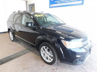 Used 2018 Dodge Journey GT LEATHER NAVI SUNROOF DVD for sale in Listowel, ON
