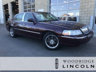 Used 2006 Lincoln Town Car Designer Series ***PRICE REDUCED*** 4.6L V8, LEATHER, SUNROOF, NO ACCIDENTS for sale in Calgary, AB