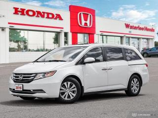 Used 2016 Honda Odyssey EX-L Sold Pending Customer Pick Up...Reverse Assist Camera, Bluetooth Rear Heat & A/C and More! for sale in Waterloo, ON