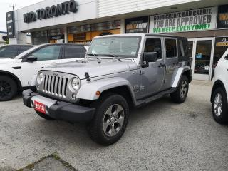 Used 2018 Jeep Wrangler Unlimited Sahara Wrangler JK Unlimited | 4WD | Navigation | Remote Starter for sale in North York, ON