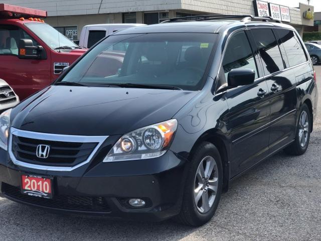 2010 Honda Odyssey Touring w/RES &NAVI, 3 YR WARRANTY, CERTIFIED