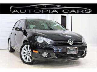 Used 2013 Volkswagen Golf 2.0 TDI HIGHLINE LOW MILLAGE NAVIGATION DIESEL for sale in North York, ON