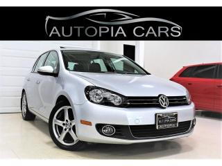 Used 2012 Volkswagen Golf 2.0 TDI HIGHLINE SUNROOF ALLOY DIESEL for sale in North York, ON