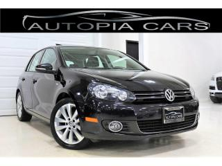 Used 2013 Volkswagen Golf 2.0 TDI WOLFSBURG EDITION SUNROOF DIESEL for sale in North York, ON