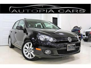 Used 2013 Volkswagen Golf 2.0 TDI HIGHLINE NAVIGATION SUNROOF DIESEL for sale in North York, ON