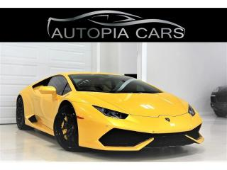 Used 2015 Lamborghini Huracan 610 LP 631 HP AWD/NAVIGATION/BACKUP for sale in North York, ON
