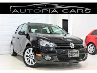 Used 2012 Volkswagen Golf 2.0 TDI HIGHLINE NAVIGATION SUNROOF DIESEL for sale in North York, ON