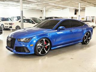 Used 2017 Audi RS 7 PRESTIGE/360 CAMERA/HEADS-UP DISPLAY/BLIND SPOT ASSIST! for sale in Toronto, ON