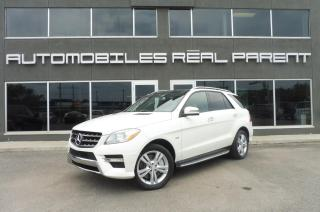 Used 2012 Mercedes-Benz ML 350 4MATIC -NAVI -CAMÉRA - TOIT PANO - for sale in Québec, QC