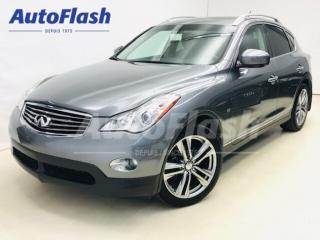 Used 2014 Infiniti QX50 Journey * Camera-360 * Mags-19 * Clean! for sale in St-Hubert, QC