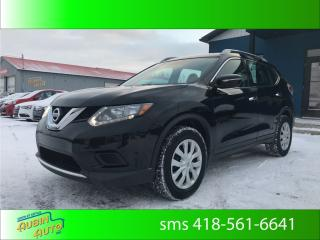 Used 2015 Nissan Rogue S , air climatisé , bluetooth for sale in St-Agapit, QC