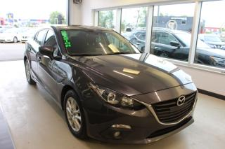 Used 2015 Mazda MAZDA3 GS BERLINE MANUELLE CAMÉRA TOIT for sale in Lévis, QC