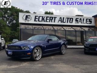 Used 2011 Ford Mustang V6  6-SPEED MANUAL!! for sale in Barrie, ON