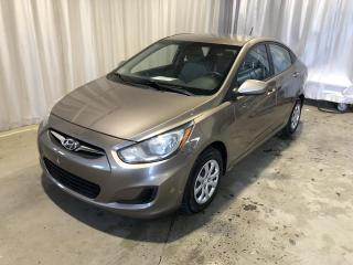 Used 2013 Hyundai Accent Berline 4 portes, boîte manuelle, GL for sale in Sherbrooke, QC