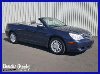 Used 2008 Chrysler Sebring Touring Convertible +Bas Km, Aucun Carfax+ for sale in Cowansville, QC