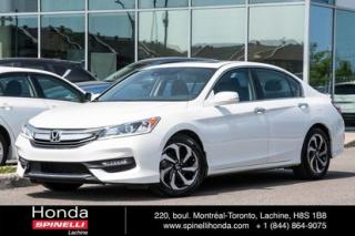Used 2016 Honda Accord EX-L AUTO CUIR TOIT AUTO CUIR TOIT MAGS BLUETOOTH for sale in Lachine, QC