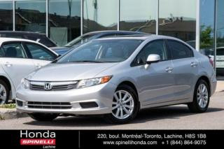 Used 2012 Honda Civic EX AUTO TOIT MAGS AUTO TOIT MAGS CRUISE for sale in Lachine, QC