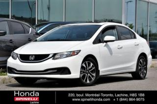 Used 2014 Honda Civic EX AUTO TOIT MAGS AUTO TOIT MAGS BLUETOOTH for sale in Lachine, QC