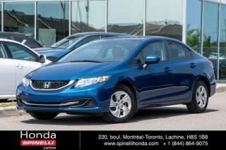 Used 2014 Honda Civic LX AUTO BAS KM AUTO AC CRUISE BLUETOOTH for sale in Lachine, QC