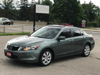 Used 2008 Honda Accord EX|ONE OWNER|LOW MILEAGE|NO ACCIDENT for sale in Cambridge, ON