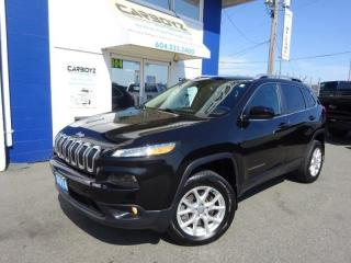 Used 2014 Jeep Cherokee North 4x4, Heated Leather, Pano Roof, Camera for sale in Langley, BC