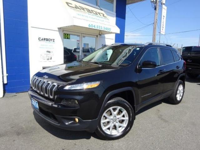 2014 Jeep Cherokee North 4x4, Heated Leather, Pano Roof, Camera
