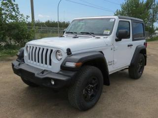 Used 2019 Jeep Wrangler SPORT for sale in Edmonton, AB