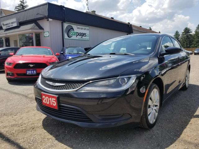 2015 Chrysler 200 LX 2015 Chrysler 200 LX