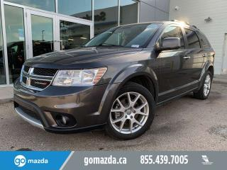 Used 2017 Dodge Journey GT AWD 7 PASS LEATHER B/U CAM for sale in Edmonton, AB