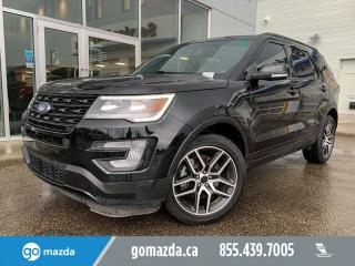 Used 2017 Ford Explorer SPORT 4WD FULL LOAD GREAT SHAPE for sale in Edmonton, AB