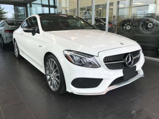Used 2017 Mercedes-Benz C-Class AMG C43 AWD 4MATIC, POWER HEATED LEATHER SEATS, KEYLESS IGNITION, NAVI for sale in Edmonton, AB