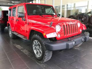 Used 2015 Jeep Wrangler Unlimited RUBICON, ACCIDENT FREE, HEATED LEATHER SEATS, BLUETOOTH, NAVI for sale in Edmonton, AB