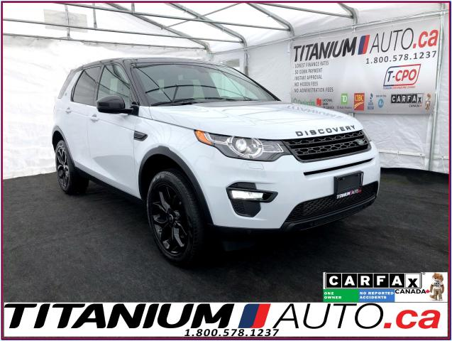 2016 Land Rover Discovery Sport HSE Si4+Blind Spot+GPS+Camera+Pano+Lane Assist+XM+