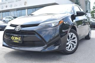 Used 2017 Toyota Corolla LE -BACK UP CAMERA-ACCIDENT FREE for sale in Oakville, ON