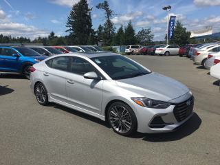 Used 2018 Hyundai Elantra Sport for sale in Duncan, BC