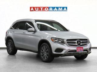 Used 2016 Mercedes-Benz GLC 300 GLC 300 4WD Navigation Leather Sunroof Backup Cam for sale in Toronto, ON