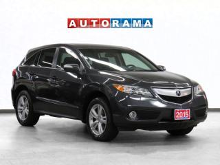 Used 2015 Acura RDX Tech Pkg 4WD Navigation Leather Sunroof Backup Cam for sale in Toronto, ON