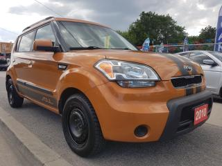 Used 2010 Kia Soul 2u - 5 SPEED - EXTRA CLEAN - BLUETOOTH - AUX - USB for sale in Scarborough, ON