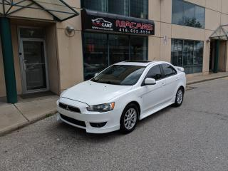 Used 2011 Mitsubishi Lancer SE SPORT**SUNROOF**LEATHER** for sale in North York, ON