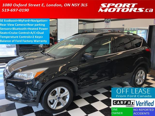 2015 Ford Escape SE+GPS+Camera+Sensor+Heated Seats+New Tires+Brakes