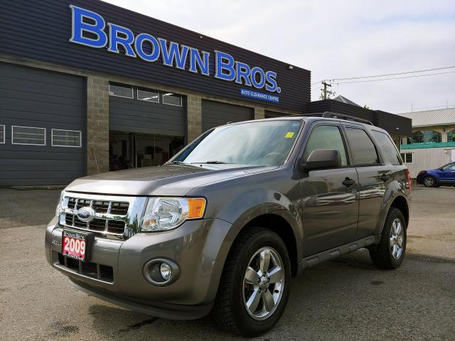 2009 Ford Escape XLT, LOCAL, MOONROOF, LEATHER