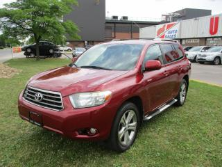 Used 2009 Toyota Highlander V6 Sport~LEATHER~7 PASS.~SUNROOF~BACK-UP CAM.~ for sale in Toronto, ON