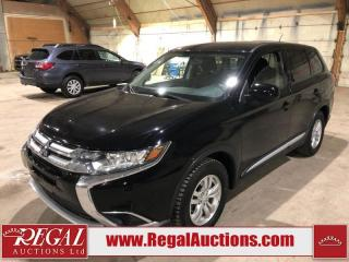 Used 2016 Mitsubishi Outlander ES 4D Utility AWD for sale in Calgary, AB