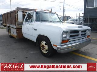 Used 1989 Dodge Ram 3500 2D REG CAB for sale in Calgary, AB