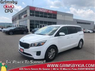 Used 2018 Kia Sedona LX| 3rd Row| Backup Cam| PWR Options for sale in Grimsby, ON