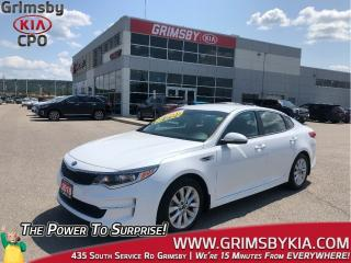 Used 2018 Kia Optima LX| Backup Cam| Heat Seat Steer| Loaded! for sale in Grimsby, ON