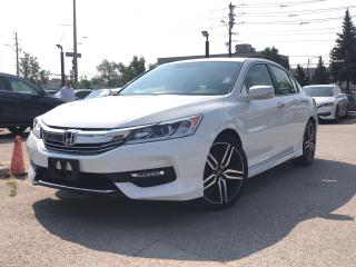 Used 2017 Honda Accord Sport, only 27500 kilometers, for sale in Toronto, ON