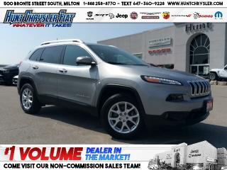 Used 2016 Jeep Cherokee NORTH | 4X4 | HTD STS | CAM | 8.4 | V6 & MORE!!! for sale in Milton, ON