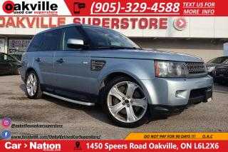 Used 2011 Land Rover Range Rover Sport SUPERCHARGED | NAVI | B/U CAM | SUNROOF | 510 HP for sale in Oakville, ON
