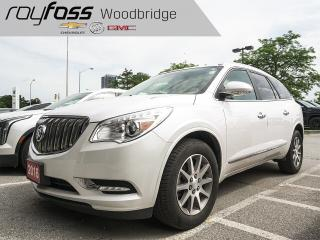 Used 2016 Buick Enclave Leather for sale in Woodbridge, ON